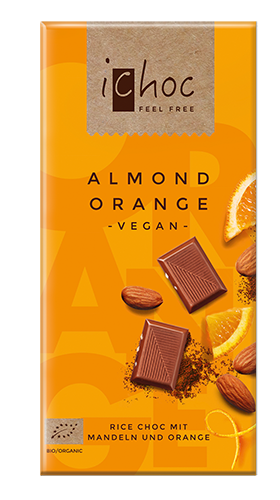 Vivani iCHOC ALMOND ORANGE