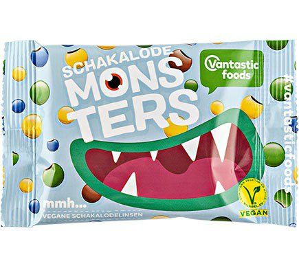 Vantastic Foods MONSTERS SCHOKOLINSEN