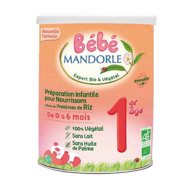 La Mandorle BABY FOLGEMILCH-ALTERNATIVE 0 BIS 6 MONATE