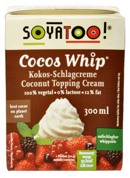 Soyatoo COCOS WHIP - KOKOS SCHLAGOBERS