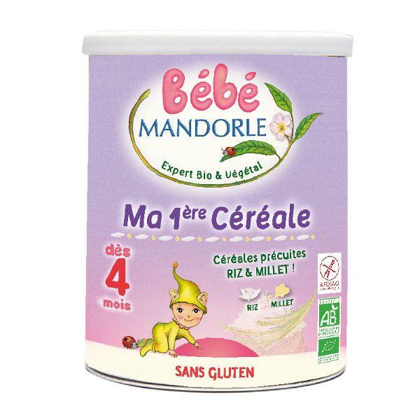 La Mandorle BABY REIS-HIRSE BREI AB 4 MONATE GLUTENFREI