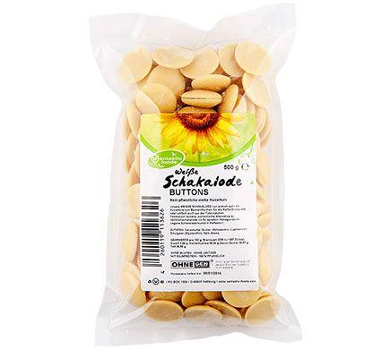 Vantastic Foods SCHAKALODE BUTTONS WEISS DROPS