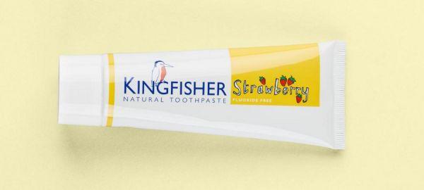 Kingfisher KINDER ERDBEERE OHNE FLUORID