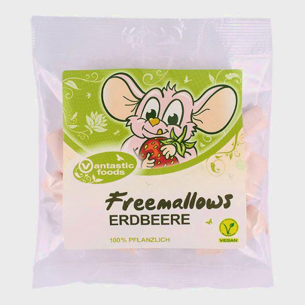 Vantastic Foods FREEMALLOWS Erdbeer Marshmallows