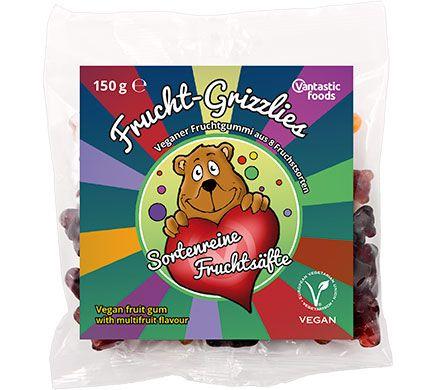 Vantastic Foods FRUCHTGRIZZLIES 150g