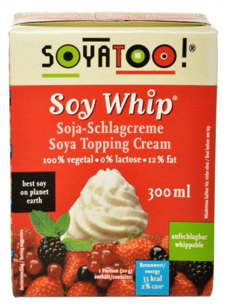 Soyatoo SOY WHIP - SOJA SCHLAGOBERS