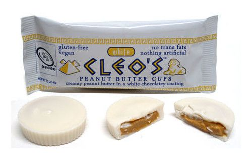 GoMaxGo CLEOS WHITE PEANUTBUTTER CUPS