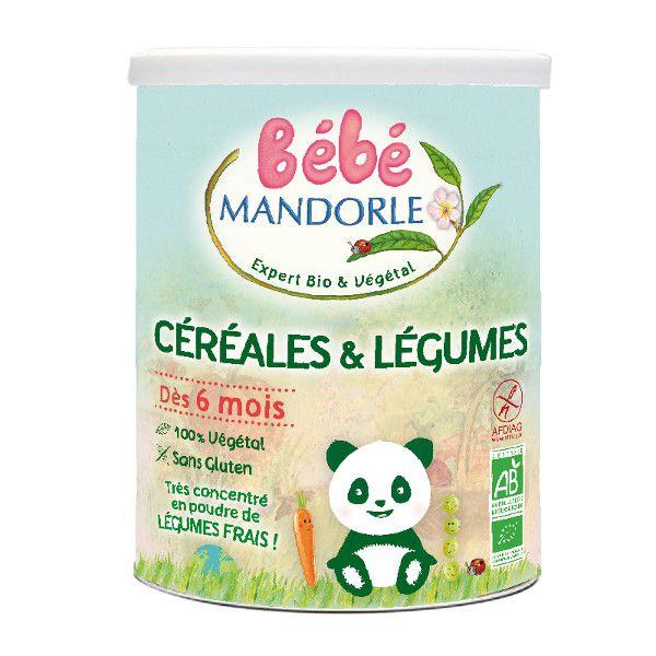 La Mandorle BABY GETREIDE-GEMÜSE BREI AB 6 MONATE GLUTENFREI