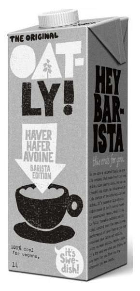 Oatly HAFER BARISTA EDITION DRINK 1 Liter