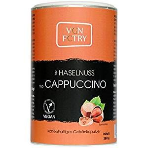 Vgn Fctry CAPPUCCINO HASELNUSS