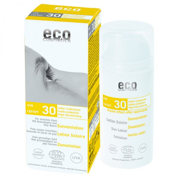 Eco Cosmetics SONNENLOTION SENSIBLE HAUT LSF 30