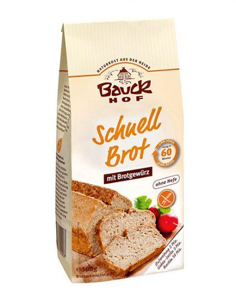 Bauckhof SCHNELL BROT MIT GEWÜRZEN glutenfrei