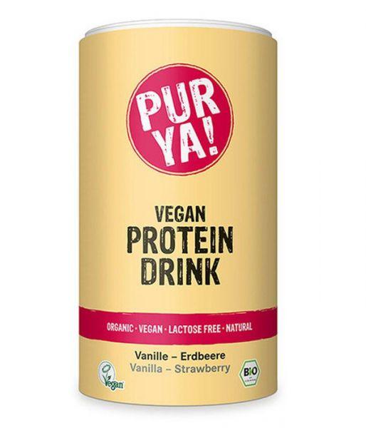 Pur ya! PROTEIN DRINK VANILLE ERDBEERE
